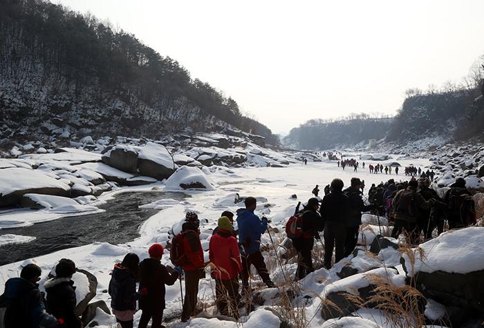 철원 한탄강 얼음트레킹 2018