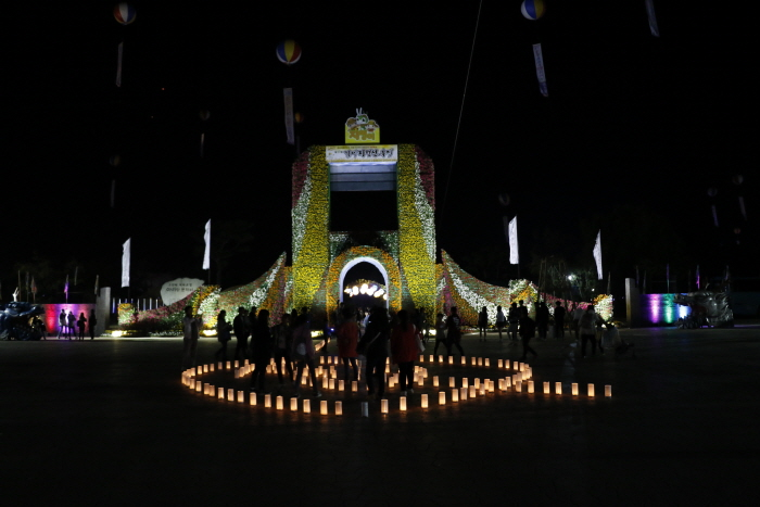 Фестиваль горизонта в Кимчже (김제 지평선축제)7