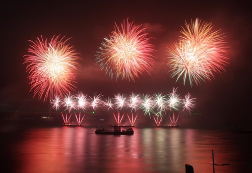 Busan International Fireworks Festival ( )