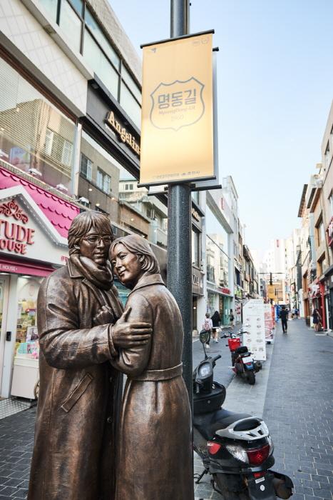 Calles de Myeong-dong de Chuncheon (춘천명동거리)14