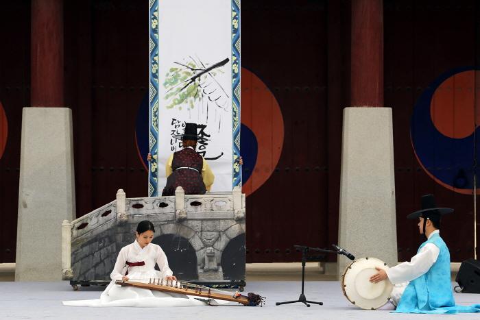 Espectáculo de los Sábados del Palacio Hwaseonghaenggung (화성행궁 토요상설공연)