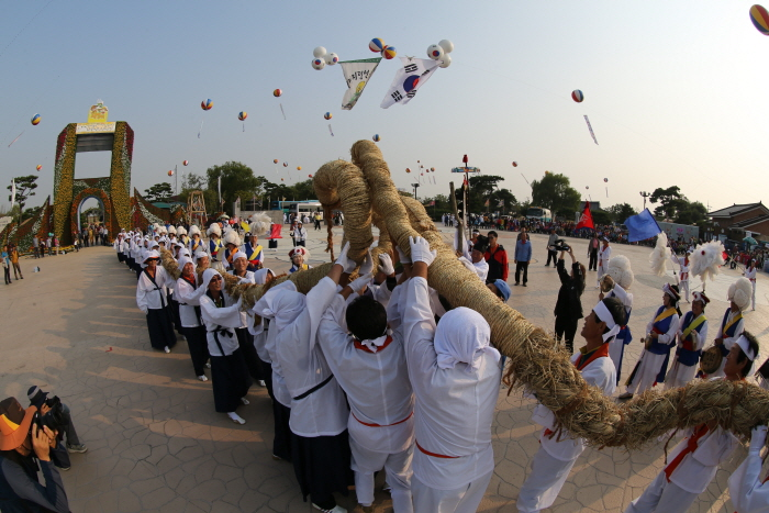 Фестиваль горизонта в Кимчже (김제 지평선축제)2