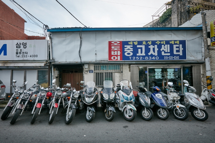 Motorradgasse Daegu (대구 오토바이골목)