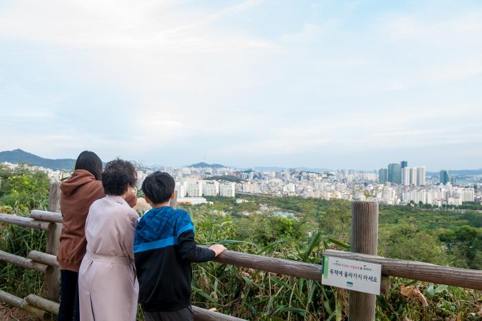 서울 시내가 보이는 전망대