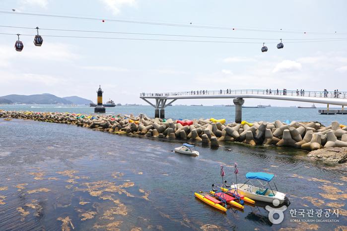 송도해수욕장 해상케이블카