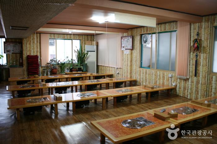 ソンバウィガーデン食堂(선바위가든)