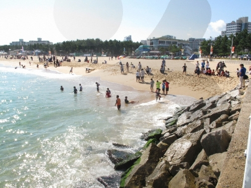 束草海岸(속초해변)