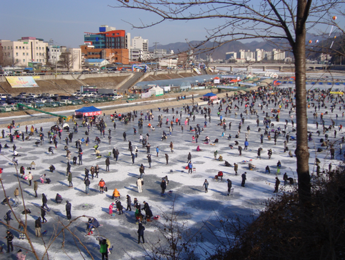 Hongcheon Winter Festival (홍천강 꽁꽁축제)