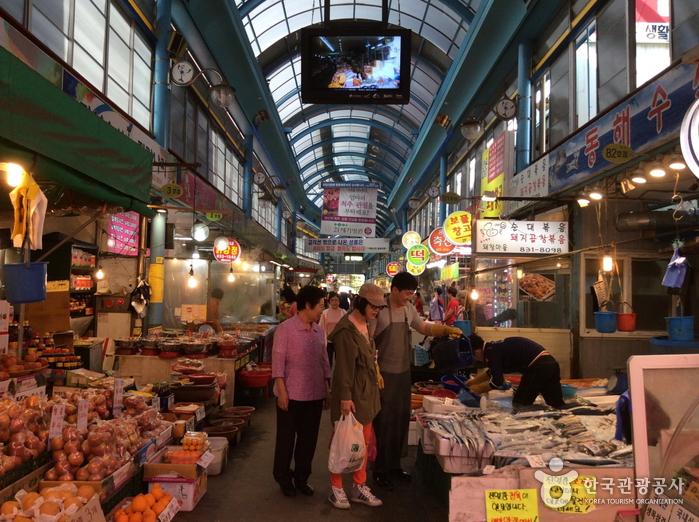인천 옥련시장