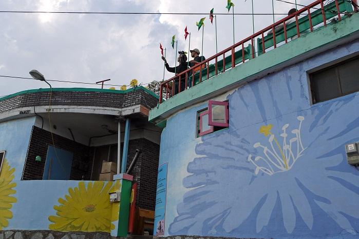 자만마을 벽화갤러리