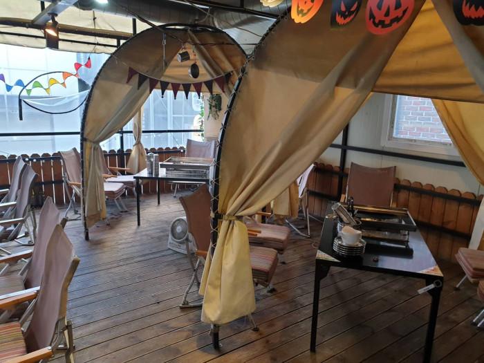 Nanjang Camp Sinsa Garosugil(난장캠프 신사가로수길)