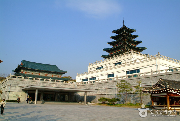 Jeongwol Daeboreum Event des Nationalen Volkskundemuseums (국립민속박물관 정월대보름 한마당)