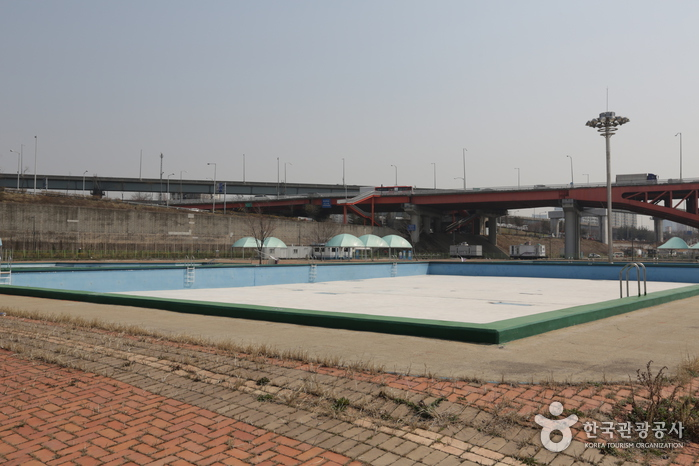 Mangwon Hangang Park Outdoor Swimming Pool (한강시민공원 망원수영장(실외))