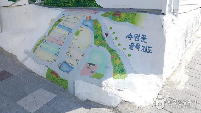 寿岩コル壁画村(수암골 벽화마을)