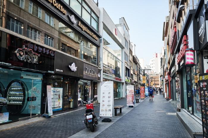 Calles de Myeong-dong de Chuncheon (춘천명동거리)12