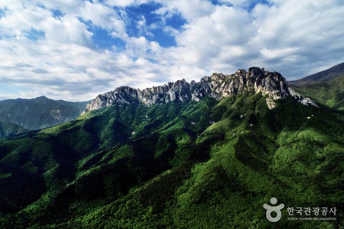 Felsen Ulsanbawi (설악산 울산바위)