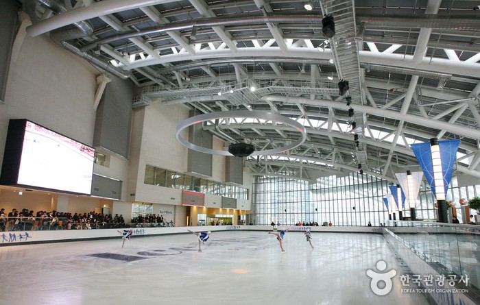 Ice Rink at Shinsegae Department Store