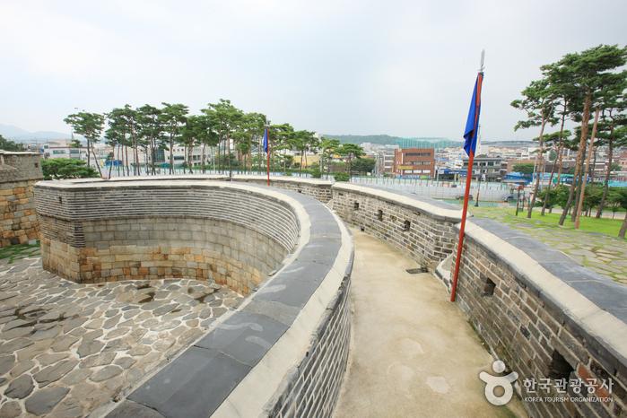 Ворота Чханнёнмун в крепости Хвасон в Сувоне12