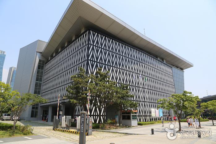 컴팩스마트시티·인천광역시립박물관 외관
