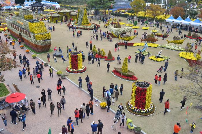 Geoje Island Flower Festival (거제섬꽃축제)