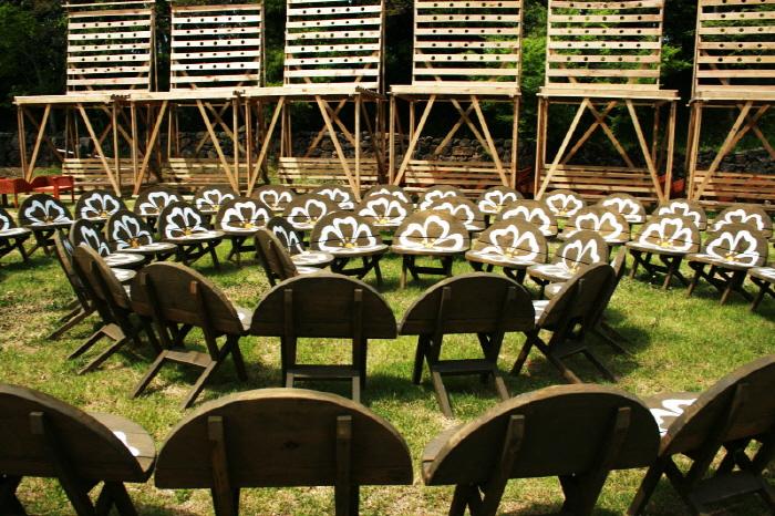 제주 아홉굿 의자마을