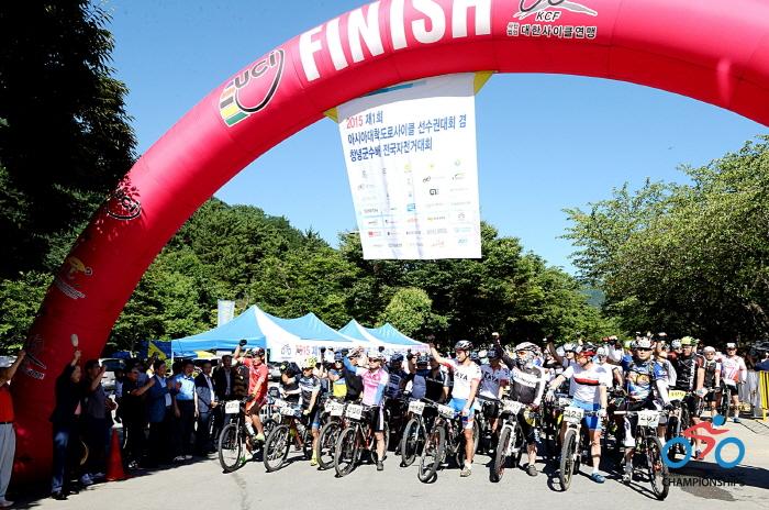창녕군수배전국자전거대회(아시아대학도로사이클선수권대회) 2016