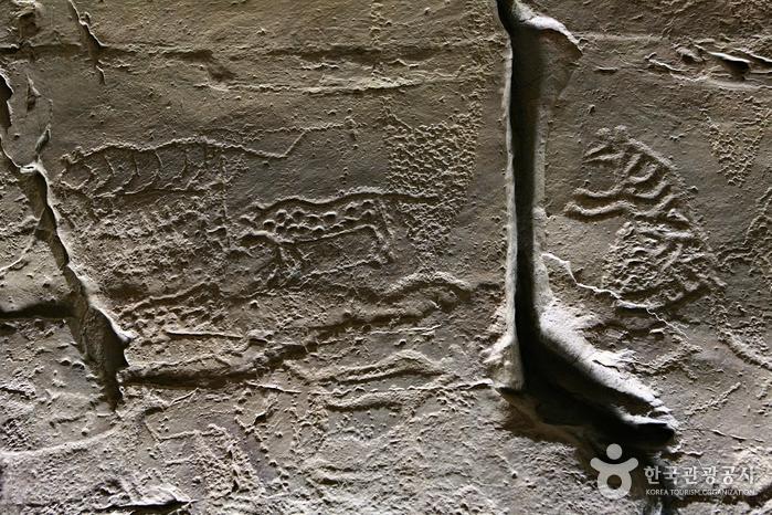 선사시대 암각화에 신라 화랑들이 찾아간 까닭은, 울주 천전리 각석