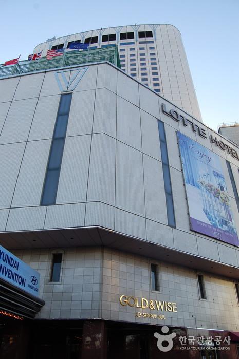 Отель Lotte Hotel World (롯데호텔 월드)