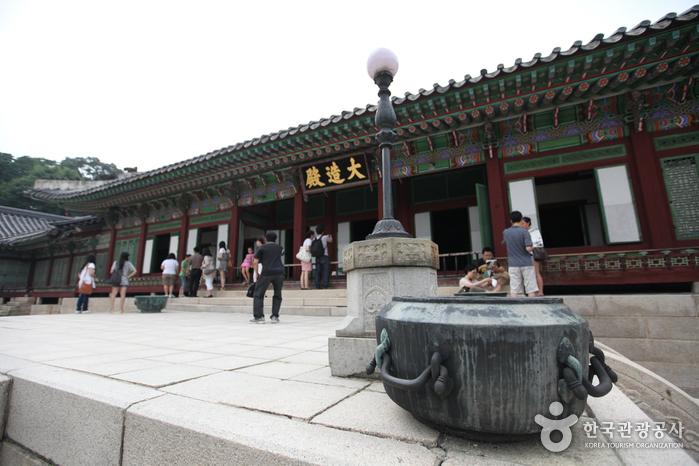 Зал Тэчжочжон во Дворце Чхандоккун (창덕궁 대조전)2