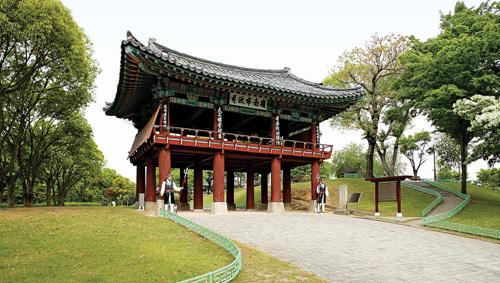 Крепость Чинчжусон (진주성)21
