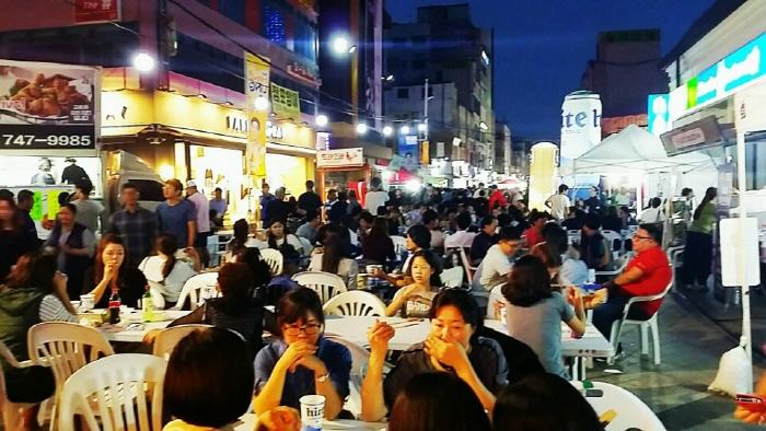 문화의거리 골목 치맥 축제 2017  사진7