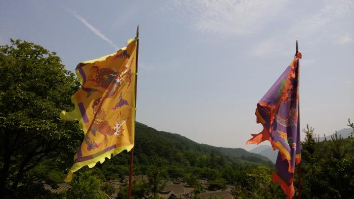 Lieu de tournage Mungyeong Saejae (문경새재 ...