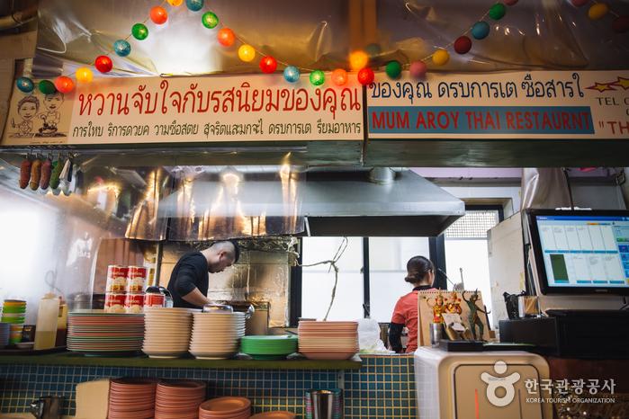 Ресторан тайской кухни Mum Aroy (뭄알로이)6