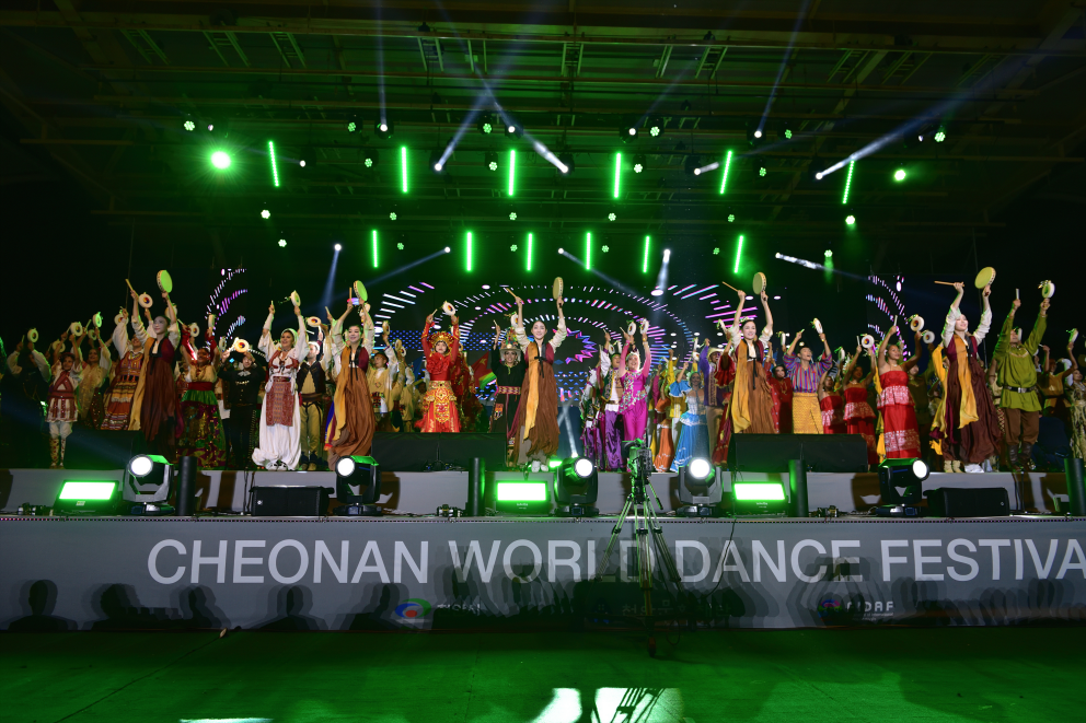 泥����ν���뱀땄異��� [Cheonan World Dance Festival] 2021