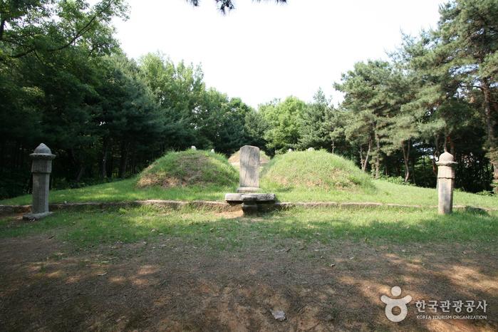 신선경과 류인호 묘역