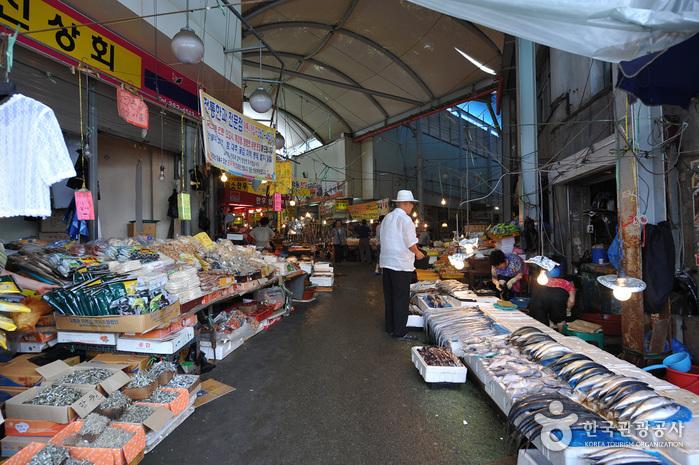 Рынок Яндон в Кванчжу (광주 양동시장)