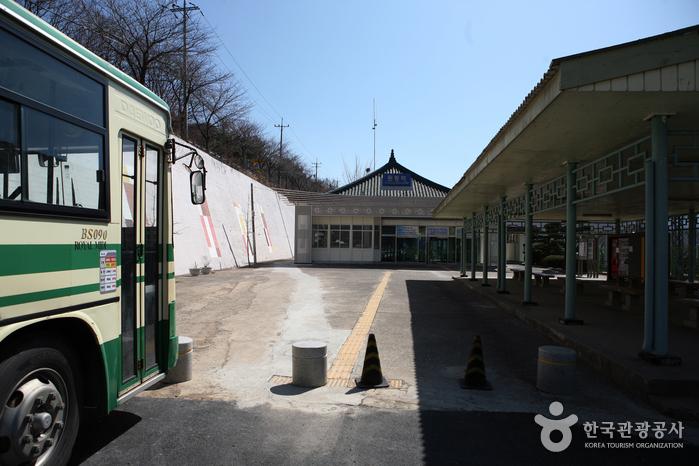 순매원에 가기 위해 내린 경부선 원동역