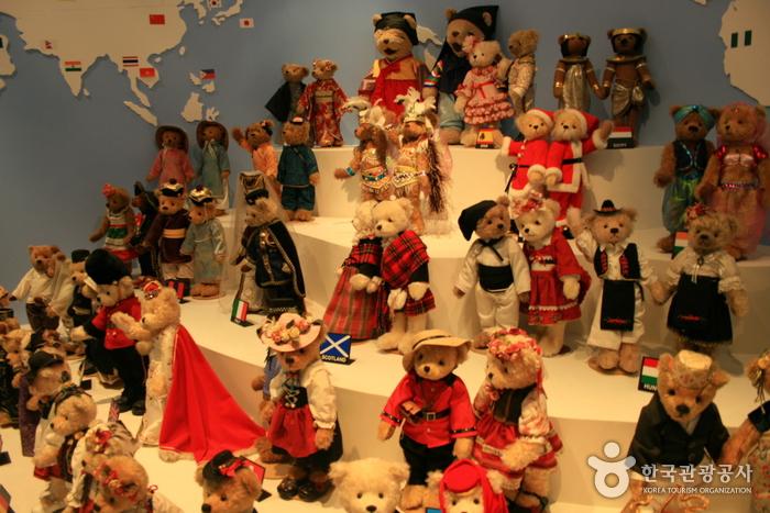 Музей плюшевого мишки на Чечжудо (제주테지움)3