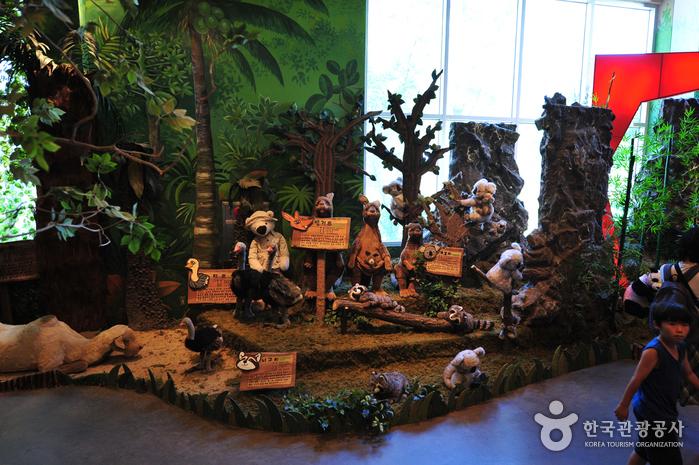 Музей плюшевого мишки на Чечжудо (제주테지움)9