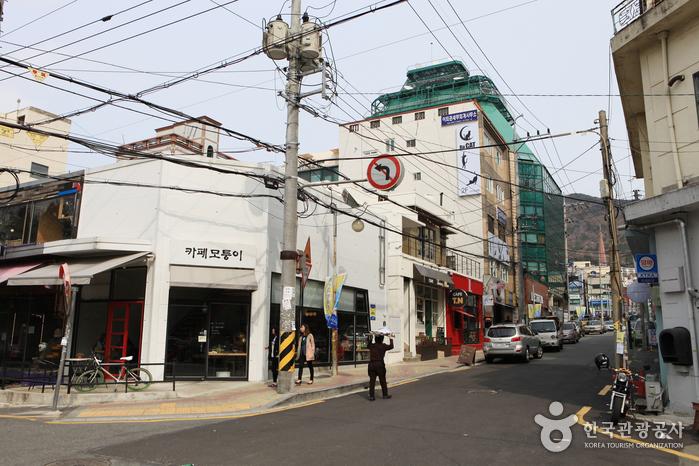 田浦カフェ通り(전포카페거리)