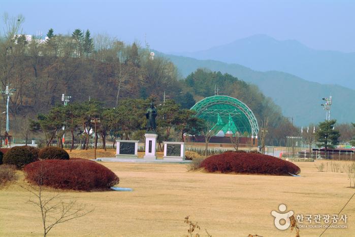공지천시민공원 야외공연장