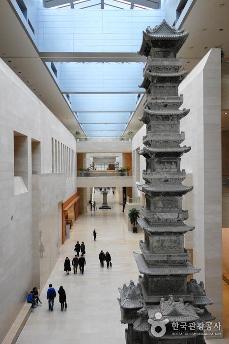 국립중앙박물관 중앙 통로