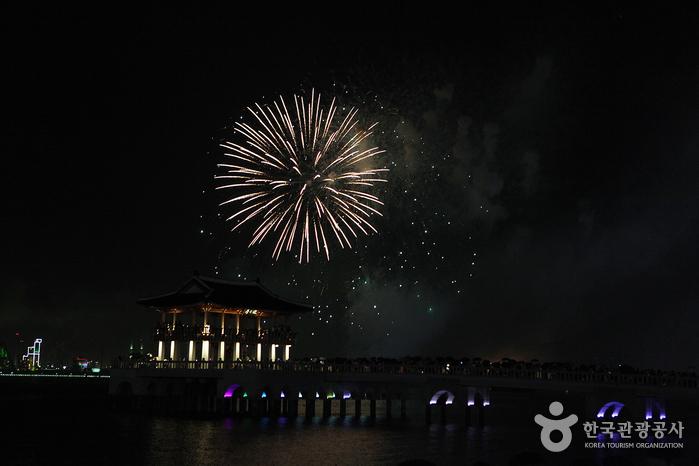 2014 포항국제불빛축제 '뮤직불꽃쇼'