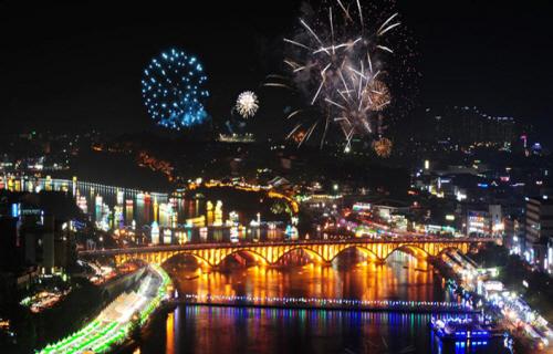 [글로벌축제] 진주남강유등축제 2016 사진
