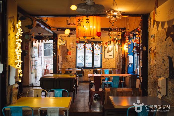 Ресторан Оксан Тальпит (옥상달빛)6