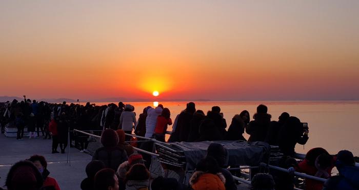 Festival du Lever du Soleil à Maryangpo (마량포 해넘이 해돋이축제)
