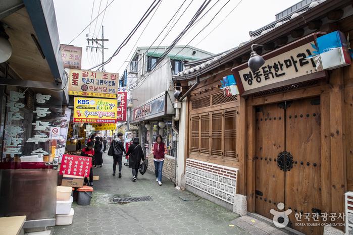 서울 동대문 닭한마리 골목