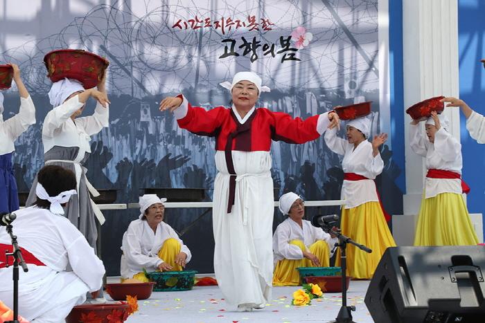 속초 실향민 역사문화축제 '시간도 지우지 못한 고향의 봄' 2019