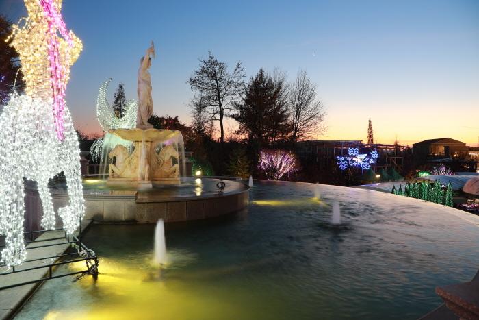 퍼스트가든 빛축제 - 별빛이 흐르는 정원 2020