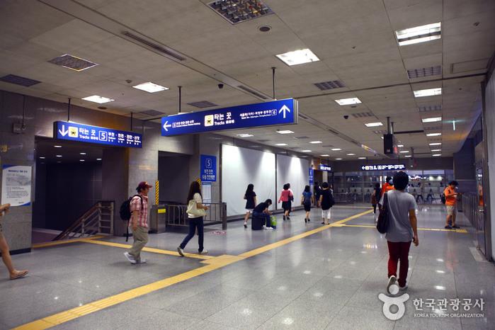 龍山站(용산역)